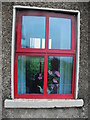 H6734 : Window detail, Monaghan by Kenneth  Allen