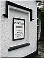 SK6132 : Plumtree School, commemorative plaque by Alan Murray-Rust