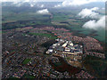 TL2626 : Stevenage from the air by Thomas Nugent