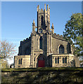 SD9305 : Parish Church of St James, Oldham by Steven Haslington