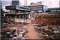 SP0786 : Bullring under construction by Ruth Riddle