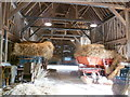 TL3451 : Inside the Tithe Barn at Wimpole Home Farm by Marathon