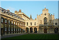 TL4457 : Old Court and Chapel in Peterhouse, Cambridge by Roger  Kidd