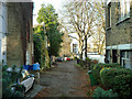 TQ3376 : Back alley, SE5 by Robin Webster