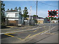 TQ2079 : Acton Green: Bollo Lane Junction signal box and level crossing by Nigel Cox