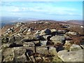 SK1988 : View Along Derwent Edge from White Tor by Jonathan Clitheroe
