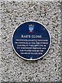 Photo of John Rae blue plaque