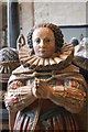 SP2512 : Elizabeth Cary, Tanfield tomb, Burford Church by Julian P Guffogg