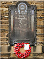 SJ9992 : War Memorial, Chisworth Methodist Church by David Dixon
