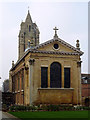 TL4458 : The chapel at Pembroke College, Cambridge by Roger  Kidd