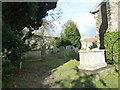 TQ4110 : All Saints', Lewes: churchyard (I) by Basher Eyre
