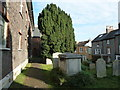 TQ4110 : All Saints', Lewes: churchyard (VII) by Basher Eyre