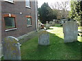 TQ4110 : All Saints', Lewes: churchyard (X) by Basher Eyre