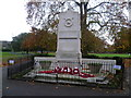 TQ3177 : Kennington Park war memorial by Ian Yarham