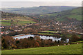 SK0081 : Toddbrook Reservoir from the southerly slope of Hawkhurst Head by Bob Prophet
