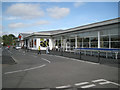 SP2965 : Extended frontage, Tesco Warwick by Robin Stott