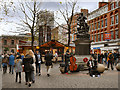 SJ8398 : St Ann's Square by David Dixon
