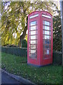 TM2178 : Telephone Box on Wingfield Road by Adrian Cable