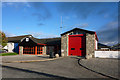 NH8913 : Aviemore fire station by Phil Champion