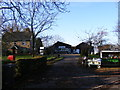 TM2573 : Etheridge Nurseries Farm Shop &amp; Ashfield Green Postbox by Adrian Cable