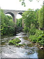 SK0085 : Union Bridge New Mills by Peter Turner