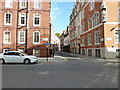 TQ3079 : Looking from Great Peter Street into Tufton Street by Basher Eyre