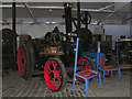 SD8010 : Steam Traction Engine at Bury Transport Museum by David Dixon