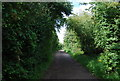 TQ0051 : Path from Stoke Lock by Nigel Chadwick