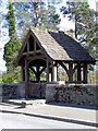 NO0840 : Lych gate, Caputh Parish Church by Miss Steel