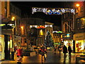 NS7993 : Stirling Christmas Lights by William Starkey