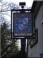TM2276 : De La Pole Arms Public House sign by Adrian Cable