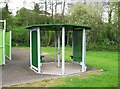 SO8377 : Shelter at Springfield Park, Kidderminster by P L Chadwick