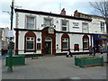 SJ9494 : White Lion, Market Place, Hyde by Alexander P Kapp
