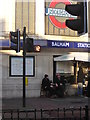 TQ2873 : Pedestrian crossing outside Balham Underground station by Christopher Hilton