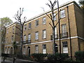 TQ3480 : Houses on Wapping High Street, E1 by Mike Quinn