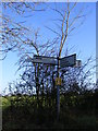 TM2771 : Roadsign on Lane Farm Lane by Adrian Cable