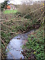 SP0180 : Merritt's Brook   From Merritts Hill Northfield by Roy Hughes
