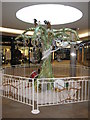SO8454 : Christmas display in the Crowngate by Philip Halling