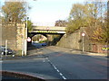 SJ9598 : Railway bridge on Clarence Street, Stalybridge by Alexander P Kapp