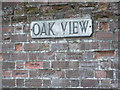 TM3569 : Oak View sign by Adrian Cable