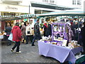 SU9949 : Farmers' Market, Guildford by Colin Smith