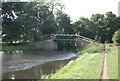 TQ0154 : Footbridge over the Wey Navigation by N Chadwick