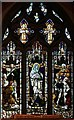 TQ3168 : St Stephen, Warwick Road, Thornton Heath - Stained glass window by John Salmon