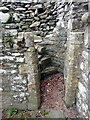 SN7465 : Stairs from the lay brothers' dormitory, Strata Florida by Phil Champion