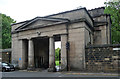 SE2934 : Gatehouse, St George's Fields, Leeds by Stephen Richards