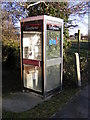 TM2479 : Telephone Box on B1116 The Street by Adrian Cable