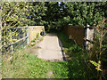 SK6771 : Bridle Lane bridge by Richard Croft