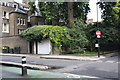 TQ2982 : Junction of Torrington Place and Ridgmount Gardens by Roger Templeman