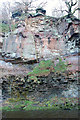 NT2662 : Carboniferous sandstone, North Esk gorge at Roslin Glen by Jim Barton