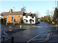 SK5821 : Burton village centre by Alan Murray-Rust